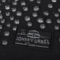 """""""AARON JUNIOR"""" újrahasznosított rolltop hátizsák, fekete, Johnny Urban"""