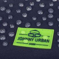 """""""AARON JUNIOR"""" újrahasznosított rolltop hátizsák, kék multicolor, Johnny Urban"""