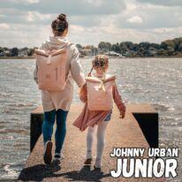 """""""AARON JUNIOR"""" újrahasznosított rolltop hátizsák, púder rózsaszín, Johnny Urban"""
