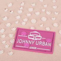 """""""AARON JUNIOR"""" újrahasznosított rolltop hátizsák, rózsaszín multicolor, Johnny Urban"""