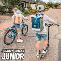 """""""LIAM JUNIOR"""" újrahasznosított hátizsák, rózsaszín multicolor, Johnny Urban"""