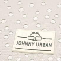 """""""Ryan"""" újrahasznosított rolltop hátizsák, homok szín-szürke Johnny Urban"""