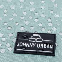 """""""Ryan"""" újrahasznosított rolltop hátizsák, szürke-menta, Johnny Urban"""