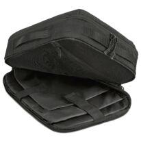 """""""BRANDON"""" újrahasznosított laptop táska, fekete, Johnny Urban"""