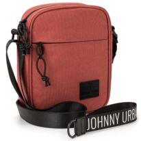 """""""LUIS"""" újrahasznosított oldaltáska, téglavörös, Johnny Urban"""