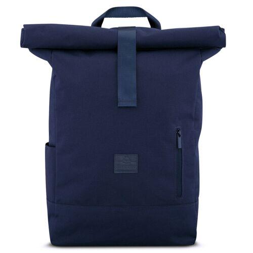 """""""AARON"""" újrahasznosított nagyméretű rolltop hátizsák, kék, Johnny Urban"""
